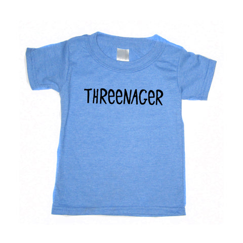 Threenager : Kids t-shirt
