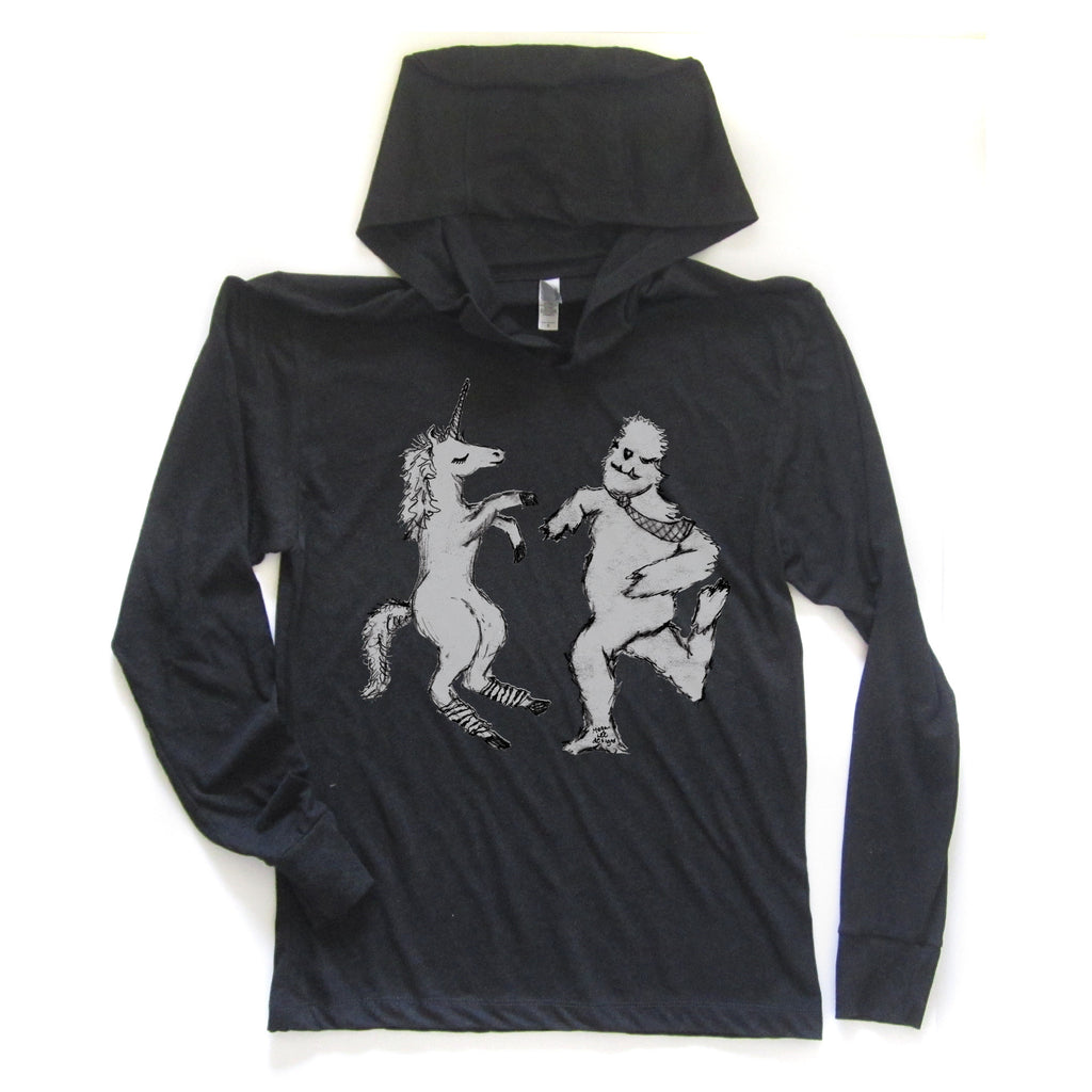 Uni & Yeti : unisex hoodie, Unisex Apparel - Megan Lee Designs