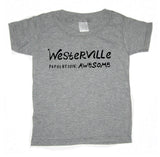 Westerville Population Awesome : kids tee - Megan Lee Designs