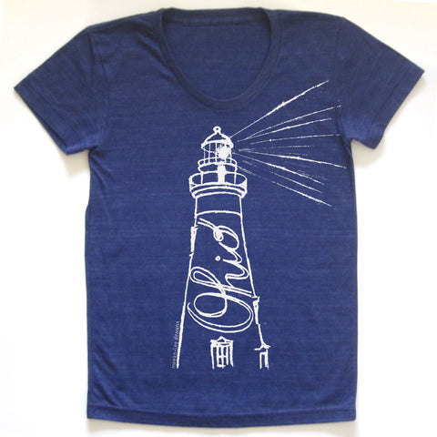Ohio Lighthouse T-shirt : Women