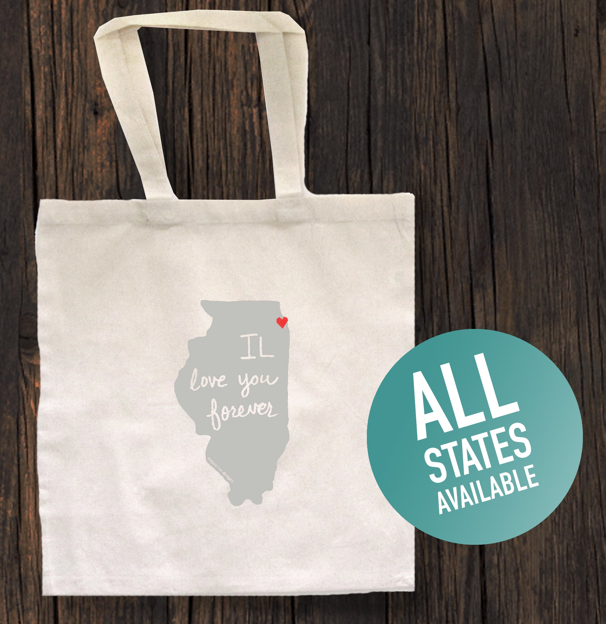 State of Mind Totebag - All 50 states available