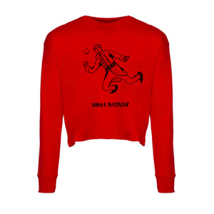 Son of a Nutcracker : Long-sleeve Women's Crop