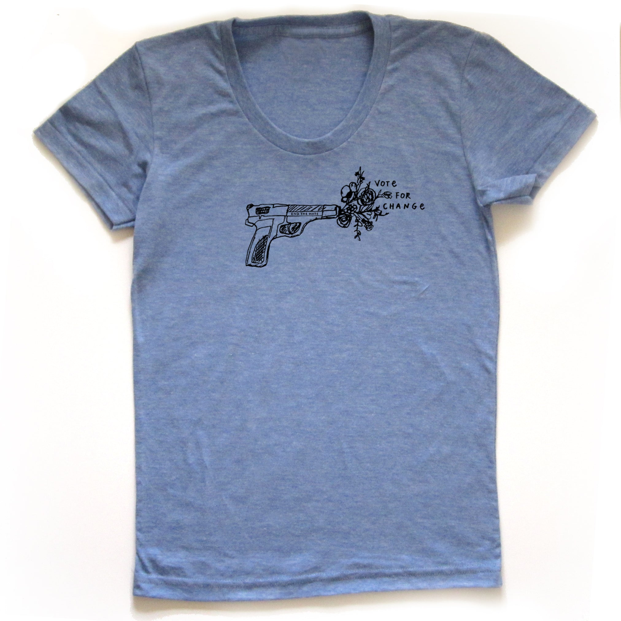 Vote for change : Women's Tee