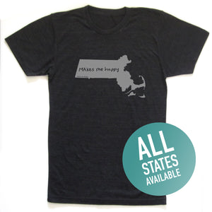 State of Mind Unisex Tee - All 50 states available