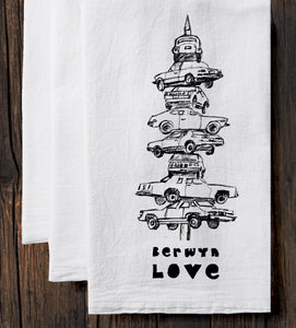 Berwyn Love : tea towel