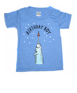 Narwhal Birthday : kids t-shirt