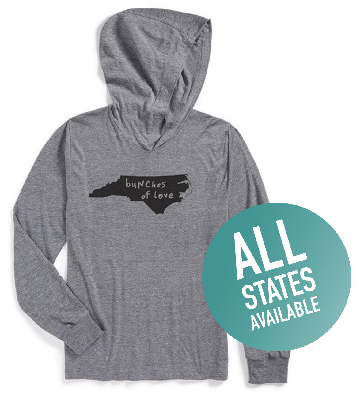 State of Mind Unisex Hoodie - All 50 states available