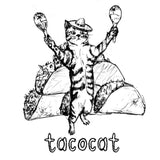 Tacocat : unisex baseball tee, Unisex Apparel - Megan Lee Designs