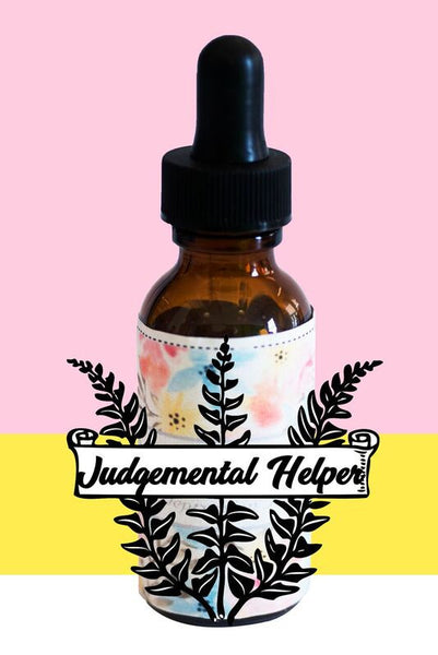 Judgmental Helper Bach Flower Remedy