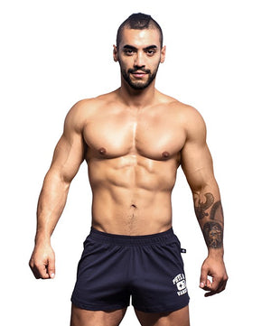 ANDREW CHRISTIAN PHYS. ED. SHORTS (NAVY) - The Jock Shop