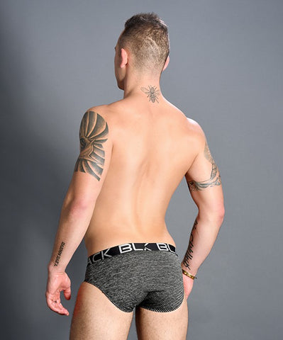 ANDREW CHRISTIAN BLACK COLLECT MODERN BRIEF (GREY) - The Jock Shop