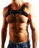 BREEDWELL GLOW BULLDOG HARNESS (RED)