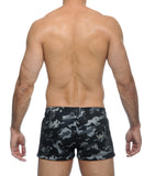 STUD MAJOR MILITARY SHORTS (CAMO)