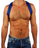 BREEDWELL GLOW SHOULDER HARNESS (BLUE)