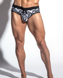 ST33LE FREESTYLE SWIM BRIEF W/ CUP (BLACK)