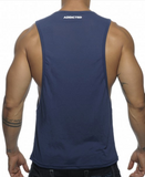 ADDICTED POWER BTM TANK TOP (BLUE)