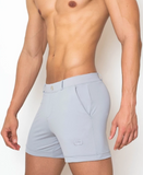 2EROS BONDI SHORTS (GREY)