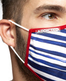 ADDICTED SAILOR MASK (BLUE)