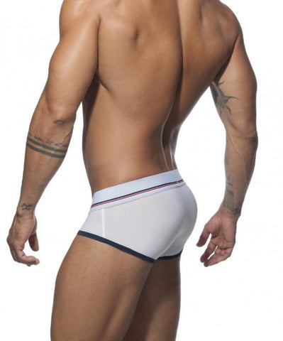 ADDICTED SPORT 09 BRIEF (WHITE) - The Jock Shop