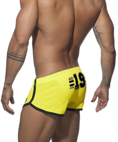 ADDICTED NEON SHORTS (YELLOW) - The Jock Shop