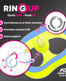 ADDICTED RING UP NEON MESH JOCK STRAP (ORANGE)
