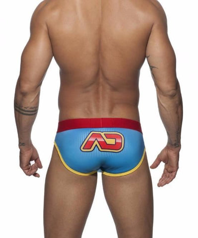 ADDICTED HERO BRIEF (BLUE) - The Jock Shop