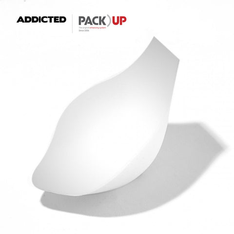 ADDICTED STRIPES PACK UP SWIM BRIEFS (WHITE) - The Jock Shop