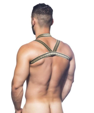 ANDREW CHRISTIAN GLADIATOR HARNESS (GOLD) - The Jock Shop
