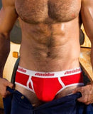 AUSSIEBUM CLASSIC ORIGINAL BRIEF (RED) - The Jock Shop