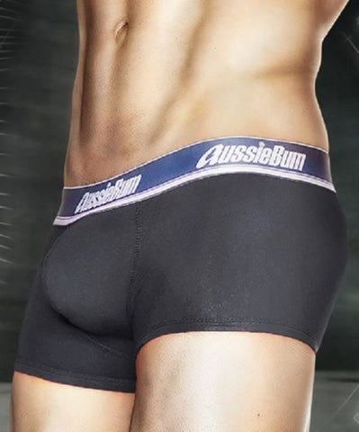 AUSSIEBUM WONDERJOCK PRO BOXERS (CHARCOAL) - The Jock Shop