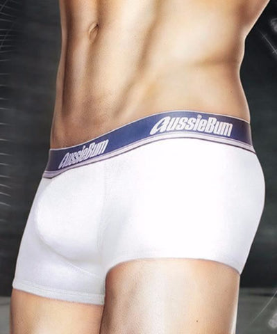 AUSSIEBUM WONDERJOCK PRO BOXERS (WHITE) - The Jock Shop