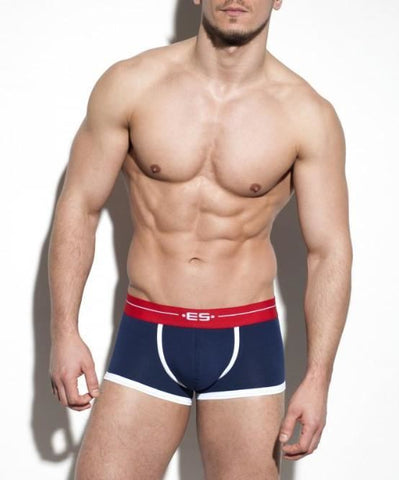 ES COLLECTION 7 DAY BOXER BRIEF (NAVY) - The Jock Shop