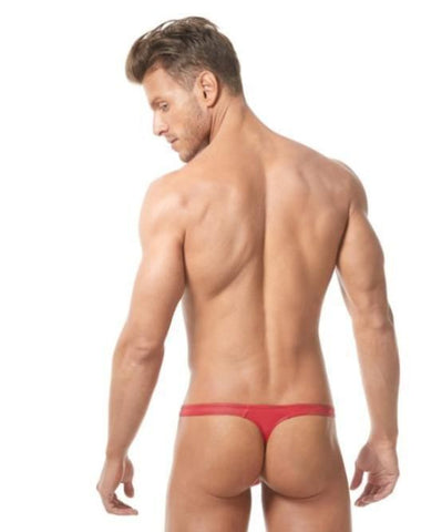 GREGG HOMME BOYTOY THONG (RED) - The Jock Shop