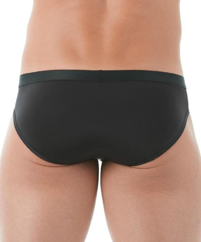 GREGG HOMME PUSH UP 2.0 BRIEF (BLACK) - The Jock Shop