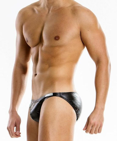 MODUS VIVENDI LEATHER BRIEF (BLACK) - The Jock Shop