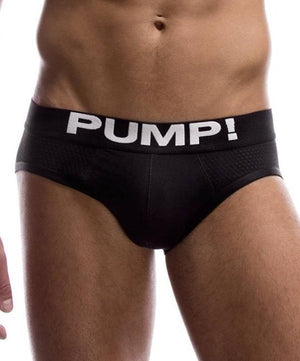 PUMP! BLACK CLASSIC BRIEF - The Jock Shop