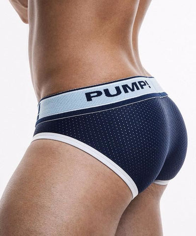 PUMP! BLUE STEEL BRIEF (BLUE) - The Jock Shop