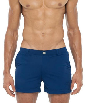 2EROS BONDI SWIM SHORTS (BLUE) - The Jock Shop