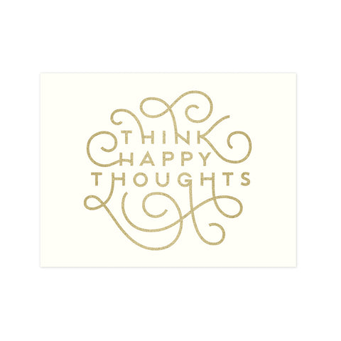 Think Happy Thoughts 8x10 Print