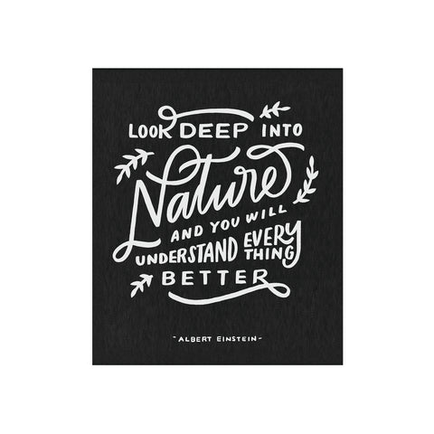 Nature Einstein Quote 8x10 Print