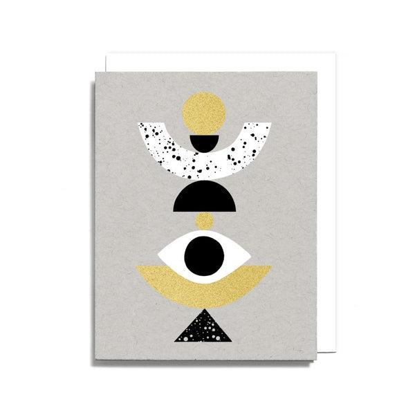Stacked Shapes Card