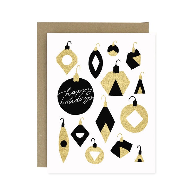 Holiday Ornaments Card