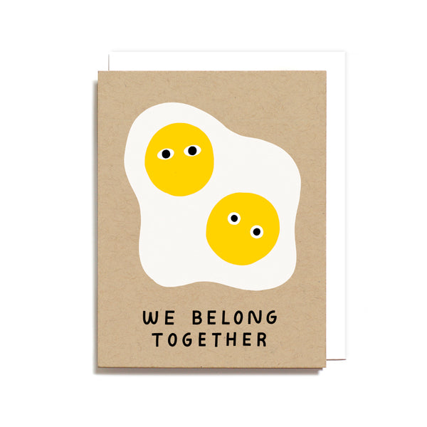 Belong Together Eggs Card
