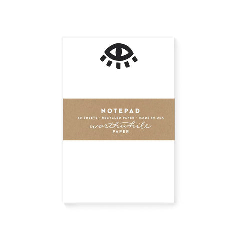 Blank Notepad - Eye
