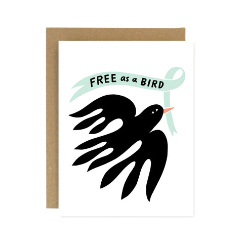 Free as a Bird Card