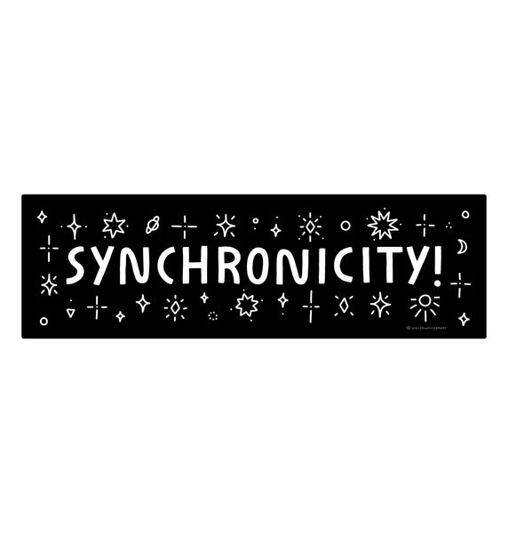 Synchronicity Die Cut Sticker