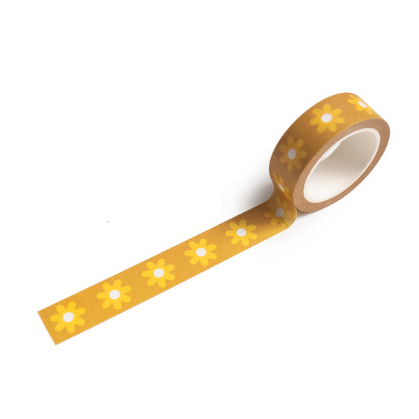 Daisy Pattern Washi Tape