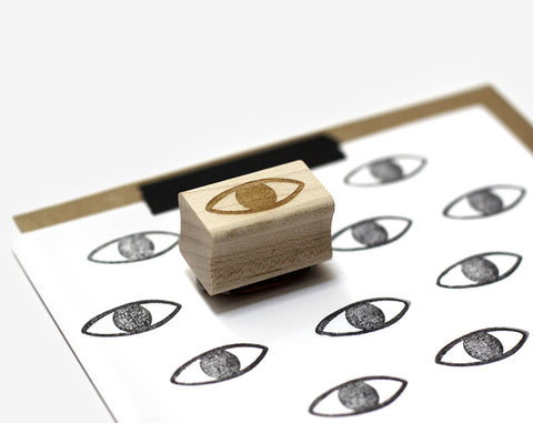 Eye Rubber Stamp