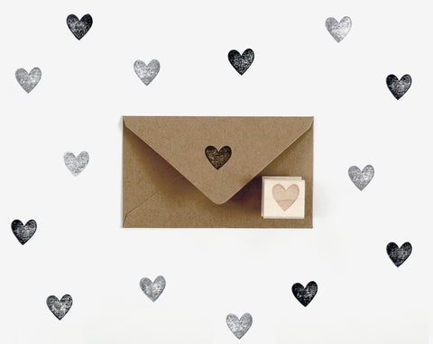 Mini Heart Stamp