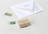 Send More Mail Rubber Stamp